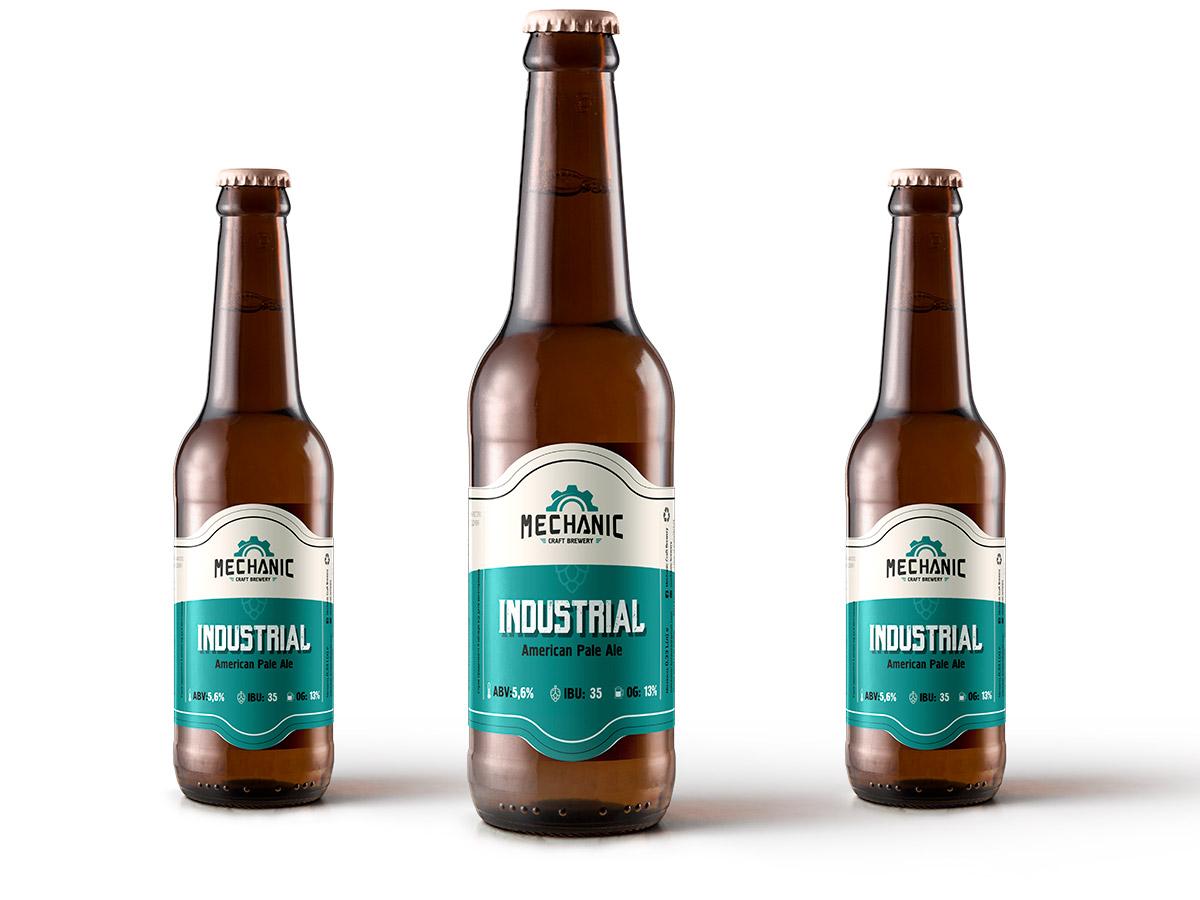 Industrial / American Pale Ale